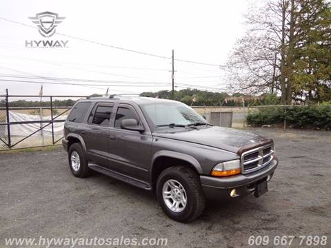 2003 Dodge Durango for sale at Hyway Auto Sales in Lumberton NJ