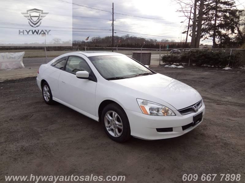 Beautiful 2007 Honda Accord For Sale At Hyway Auto Sales In Lumberton NJ