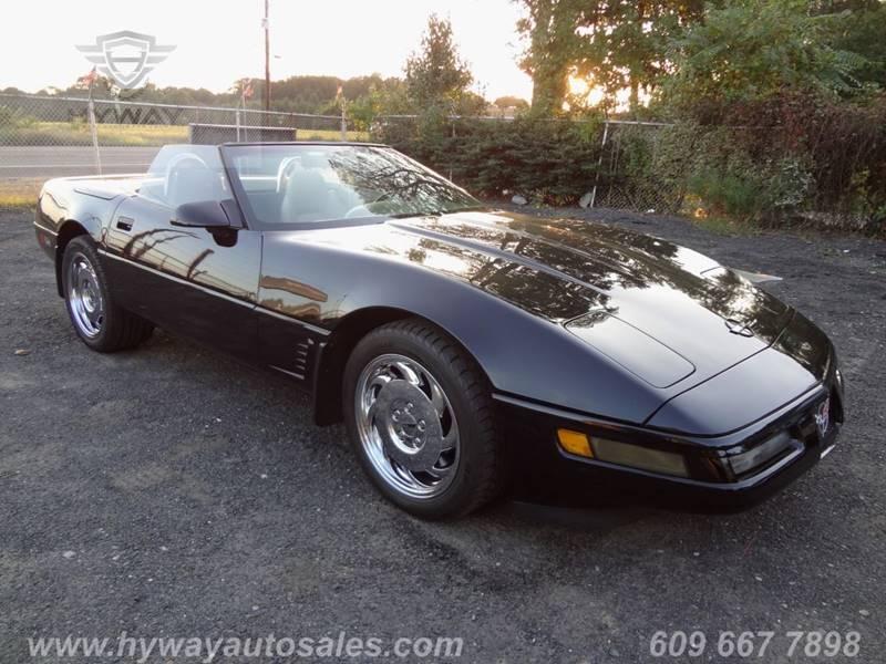 1996 Chevrolet Corvette for sale at Hyway Auto Sales in Lumberton NJ