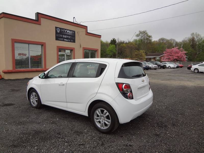 2012 Chevrolet Sonic for sale at Hyway Auto Sales in Lumberton NJ