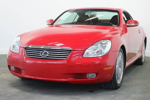 2003 Lexus SC 430 for sale at Clawson Auto Sales in Clawson MI