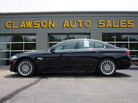 2011 BMW 5 Series for sale at Clawson Auto Sales in Clawson MI