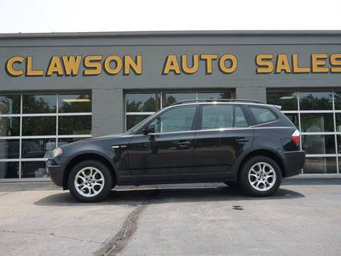 2004 BMW X3 for sale at Clawson Auto Sales in Clawson MI
