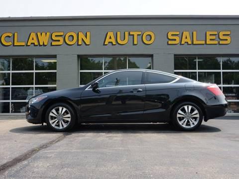 2008 Honda Accord for sale at Clawson Auto Sales in Clawson MI