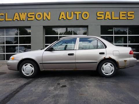 1999 Toyota Corolla for sale at Clawson Auto Sales in Clawson MI