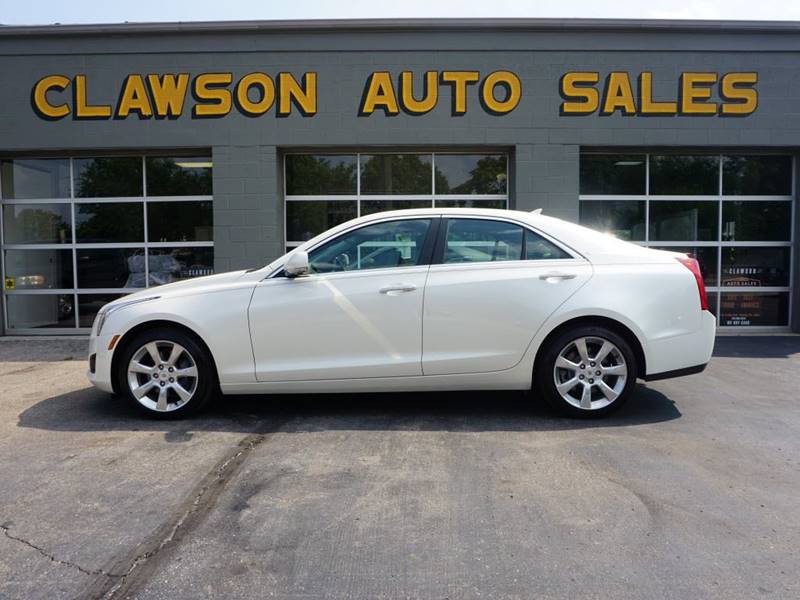 2014 Cadillac ATS for sale at Clawson Auto Sales in Clawson MI
