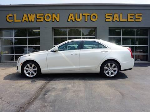 2014 Cadillac ATS for sale at Clawson Auto Sales in Clawson MI