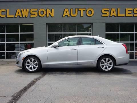 2013 Cadillac ATS for sale at Clawson Auto Sales in Clawson MI