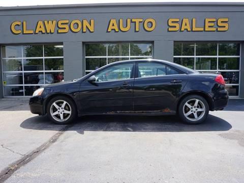 2007 Pontiac G6 for sale at Clawson Auto Sales in Clawson MI