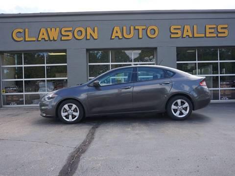 2015 Dodge Dart for sale at Clawson Auto Sales in Clawson MI