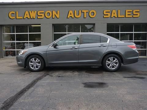 2012 Honda Accord for sale at Clawson Auto Sales in Clawson MI