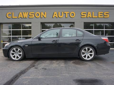 2005 BMW 5 Series for sale at Clawson Auto Sales in Clawson MI