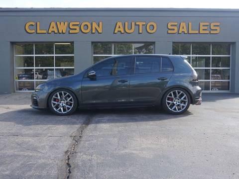 2014 Volkswagen GTI for sale at Clawson Auto Sales in Clawson MI