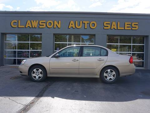 2004 Chevrolet Malibu for sale at Clawson Auto Sales in Clawson MI
