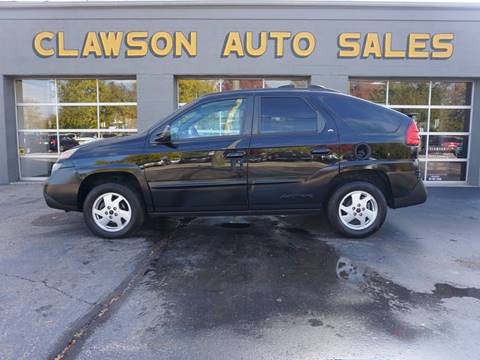 2002 Pontiac Aztek for sale at Clawson Auto Sales in Clawson MI