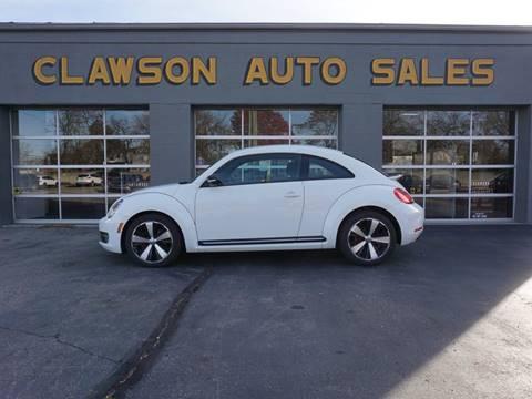 2012 Volkswagen Beetle for sale at Clawson Auto Sales in Clawson MI