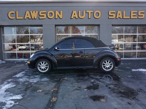 2005 Volkswagen New Beetle Convertible for sale at Clawson Auto Sales in Clawson MI