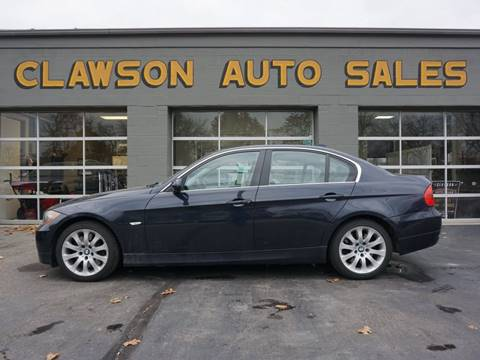 2007 BMW 3 Series for sale at Clawson Auto Sales in Clawson MI