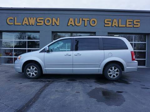 2008 Chrysler Town and Country for sale at Clawson Auto Sales in Clawson MI