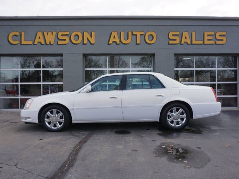 2006 Cadillac DTS for sale at Clawson Auto Sales in Clawson MI