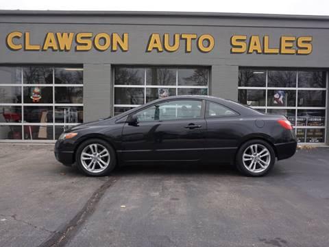 2007 Honda Civic for sale at Clawson Auto Sales in Clawson MI
