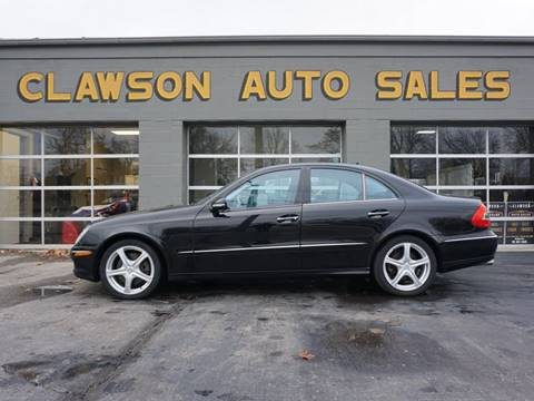 2008 Mercedes-Benz E-Class for sale at Clawson Auto Sales in Clawson MI