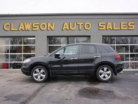 2007 Acura RDX for sale at Clawson Auto Sales in Clawson MI