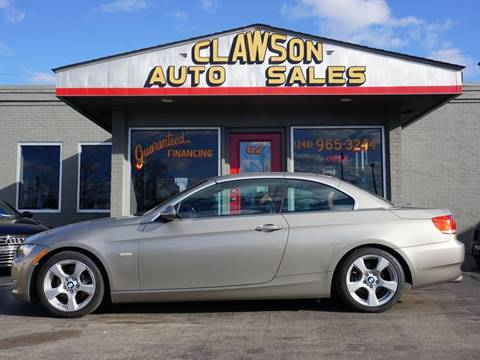 2008 BMW 3 Series for sale at Clawson Auto Sales in Clawson MI