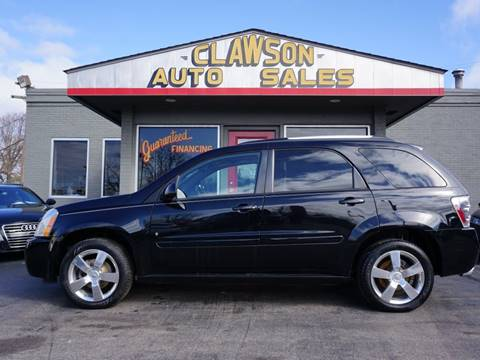 2008 Chevrolet Equinox for sale at Clawson Auto Sales in Clawson MI
