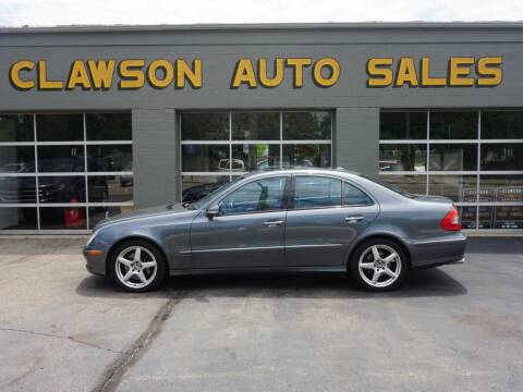 2007 Mercedes-Benz E-Class for sale at Clawson Auto Sales in Clawson MI