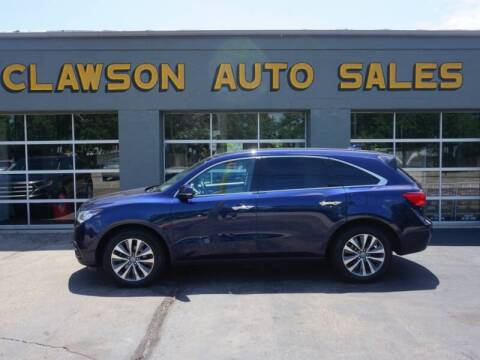 2016 Acura MDX for sale at Clawson Auto Sales in Clawson MI