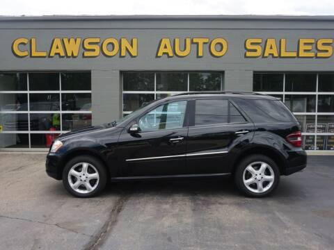 2008 Mercedes-Benz M-Class for sale at Clawson Auto Sales in Clawson MI