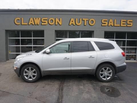 2009 Buick Enclave for sale at Clawson Auto Sales in Clawson MI