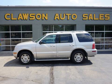 2004 Mercury Mountaineer for sale at Clawson Auto Sales in Clawson MI