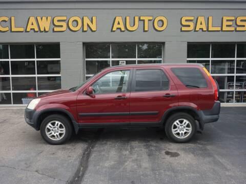 2004 Honda CR-V for sale at Clawson Auto Sales in Clawson MI