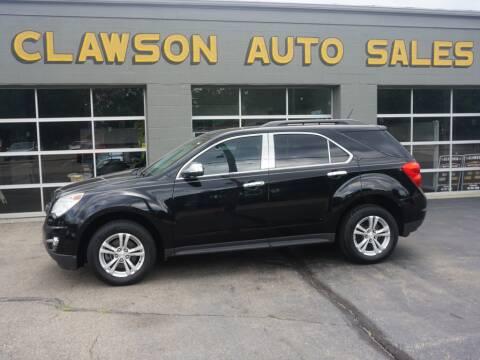 2013 Chevrolet Equinox for sale at Clawson Auto Sales in Clawson MI