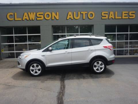 2013 Ford Escape for sale at Clawson Auto Sales in Clawson MI