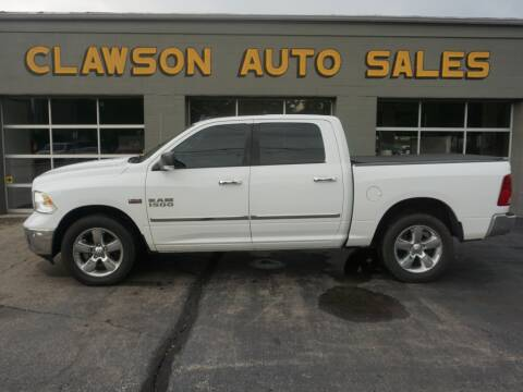 2016 RAM Ram Pickup 1500 for sale at Clawson Auto Sales in Clawson MI