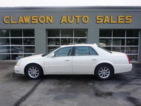 2010 Cadillac DTS for sale at Clawson Auto Sales in Clawson MI