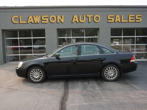 2006 Mercury Montego for sale at Clawson Auto Sales in Clawson MI