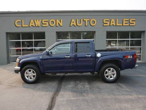 2012 Chevrolet Colorado for sale at Clawson Auto Sales in Clawson MI