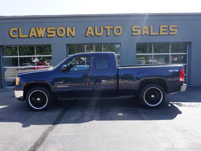 2011 GMC Sierra 1500 for sale at Clawson Auto Sales in Clawson MI