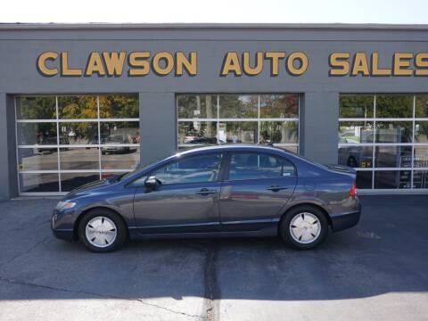 2006 Honda Civic for sale at Clawson Auto Sales in Clawson MI