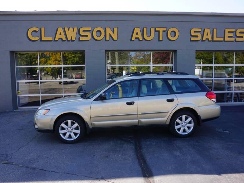 2009 Subaru Outback for sale at Clawson Auto Sales in Clawson MI