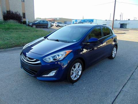 2013 Hyundai Elantra GT for sale at DFW Autohaus in Dallas TX