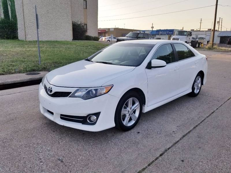 2013 Toyota Camry For Sale >> 2013 Toyota Camry Se 4dr Sedan In Dallas Tx Dfw Autohaus