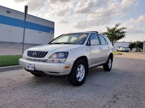 2001 Lexus RX 300 for sale at DFW Autohaus in Dallas TX