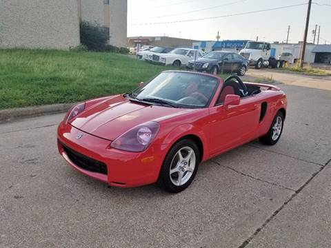2002 Toyota MR2 Spyder for sale at DFW Autohaus in Dallas TX