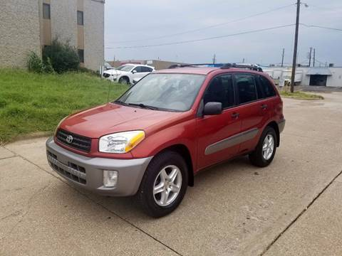 2003 Toyota RAV4 for sale at DFW Autohaus in Dallas TX