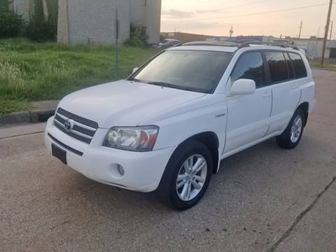 2006 Toyota Highlander Hybrid for sale at DFW Autohaus in Dallas TX